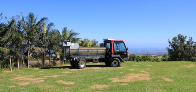 Journée démonstrastion du Lindner UNITRAC 102L à l'île de La Réunion